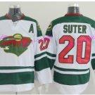 2017 Stadium Series Ryan Suter Minnesota Wild Hockey Jerseys Green #20 Ryan Suter Jersey White