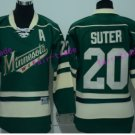2017 Stadium Series Ryan Suter Minnesota Wild Hockey Jerseys Green #20 Ryan Suter Jersey