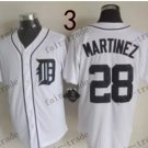 Detroit Tigers #28 J.D. Martinez  2015 Baseball Jersey Authentic Stitched