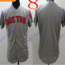 2016 Flexbase Stitched boston red sox Grey Baseball Jersey