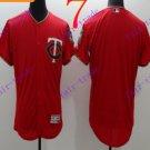 2016 Flexbase Stitched Minnesota Twins Blank Red Baseball Jersey
