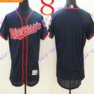 2016 Flexbase Stitched Minnesota Twins Blank Blue Baseball Jersey