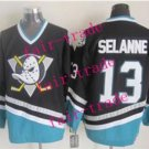 mighty ducks #13 teemu selanne 2015 Ice Winter Jersey Red Hockey Jerseys Authentic Stitched