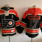 Philadelphia Flyers #17 Wayne Simmonds Black 2017 Stadium Series Hockey Hooded Sweatshirt Jerseys