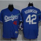 2017 Flexbase Stitched Los Angeles Dodgers 42 Jackie Robinson Blue Baseball Jerseys