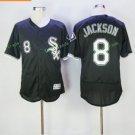 chicago white sox #8 bo jackson baseball black 2017 Baseball Jerseys