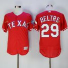 2017 Flexbase Stitched Texas Rangers 29 Adrian Beltre Red Road Flex base Jersey