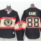 Women's Chicago Blackhawks Hockey Jerseys #88 Patrick Kane Ladies Black Anthentic Stitched Jerseys
