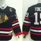 Youth Jonathan Toews Jersey Chicago Blackhawks Toews Jerseys 19 Kids Black Hockey Jersey