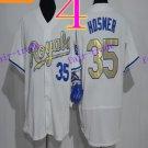 Kansas City Royals #35 Eric Hosmer 2016 Baseball Jersey Authentic Stitched