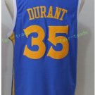 2017 2018 New 35 Kevin Durant Jersey Best Plain Blue Jerseys stitched