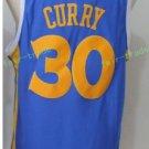 2017 2018 New 30 Stephen Curry Jersey Best Plain Blue Jerseys stitched