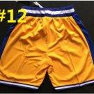 2016 Stitched Basketballl Jerseys Yellow White Jersey Rev 30 Embroidery