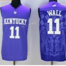 Kentucky Wildcats Jerseys 2017 College 11 John Wall Uniforms Home Purple