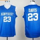 Kentucky Wildcats Jerseys 2017 College 23 Anthony Davis Uniforms Home Blue