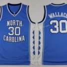 2017 North Carolina Tar Heels College 30 Rasheed Wallace Blue Jersey
