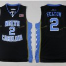 2017 North Carolina Tar Heels College  2 Felton Black Jersey