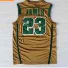 Best Quality 23 LeBron James Jersey Shirt Uniforms Yellow