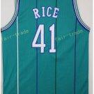Basketball Jerseys 41 Glen Rice Throwback Jerseys Blue Shirt Unifor