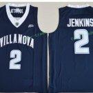2017 Villanova Wildcats College Basketball Jerseys 2 Kris Jenkins Black University Jersey