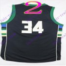 #34 giannis antetokounmpo # 2016 New Arrival swingman Basketball Jerseys Sportswear Black