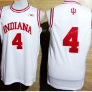 2017 College Jerseys Indiana Hoosiers 4 Victor Oladipo  Shirt Uniform Team Color White