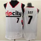 Jersey Men 7 Brandon Roy Shirt Rip City Uniforms Rev Team Color Retro White