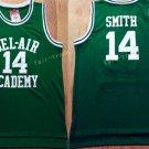 14 WILL SMITH Jerseys BEL-AIR Basketball BEL AIR Academy Green Shirt