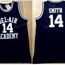 14 WILL SMITH Jerseys BEL-AIR Basketball BEL AIR Academy Black Shirt