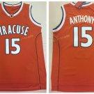 15 Camerlo Anthony Jersey Shirt 2017 Syracuse Orange Uniforms Fashion Rev Orange
