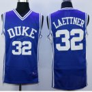 Duke Blue Devils 32 Christian Laettner Shirts Uniforms 1992 USA Dream Jersey Fashion Team Color Blue