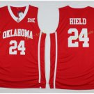Oklahoma Sooners Jerseys Man Basketball University College 24 Buddy Heild Red Jersey Sport