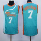 Best Quality 7 Coffee Black Blue Jersey Men Shirt Flint Tropics Semi Pro Movie