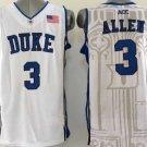 3 Grayson Allen Duke Blue Devils Men's College Jerseys High Quality White Style 2