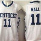 2017 Kentucky Wildcats College Jerseys #11 John Wall Basketball Shirts White