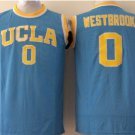 Hotselling UCLA Bruins College Basketball Jerseys 0 Russell Westbrook Blue