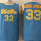 Hotselling UCLA Bruins College Basketball Jerseys 33 Jabbar Blue