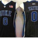 Men 0 Jayson Tatum Duke Blue Devils Jerseys College Sport Basketball Shirts All Stitched Black