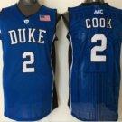 Men 14 Brandon Ingram Duke Blue Devils Jerseys College Sport Basketball Shirts Blue Style 2