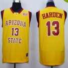 Arizona State Sun Devils Basketball Jerseys 13 James Harden University Shirts Men Yellow