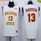 Arizona State Sun Devils Basketball Jerseys 13 James Harden University Shirts Men White