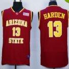 Arizona State Sun Devils Basketball Jerseys 13 James Harden University Shirts Men Red