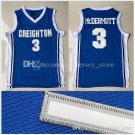 creighton university #3 Doug McDermott College Basketball Jersey 100% stitched