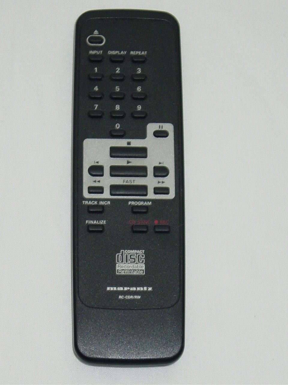 Marantz RC-7925/02 RC-CDR/RW CD Recorder Remote Control 3139-228-80871