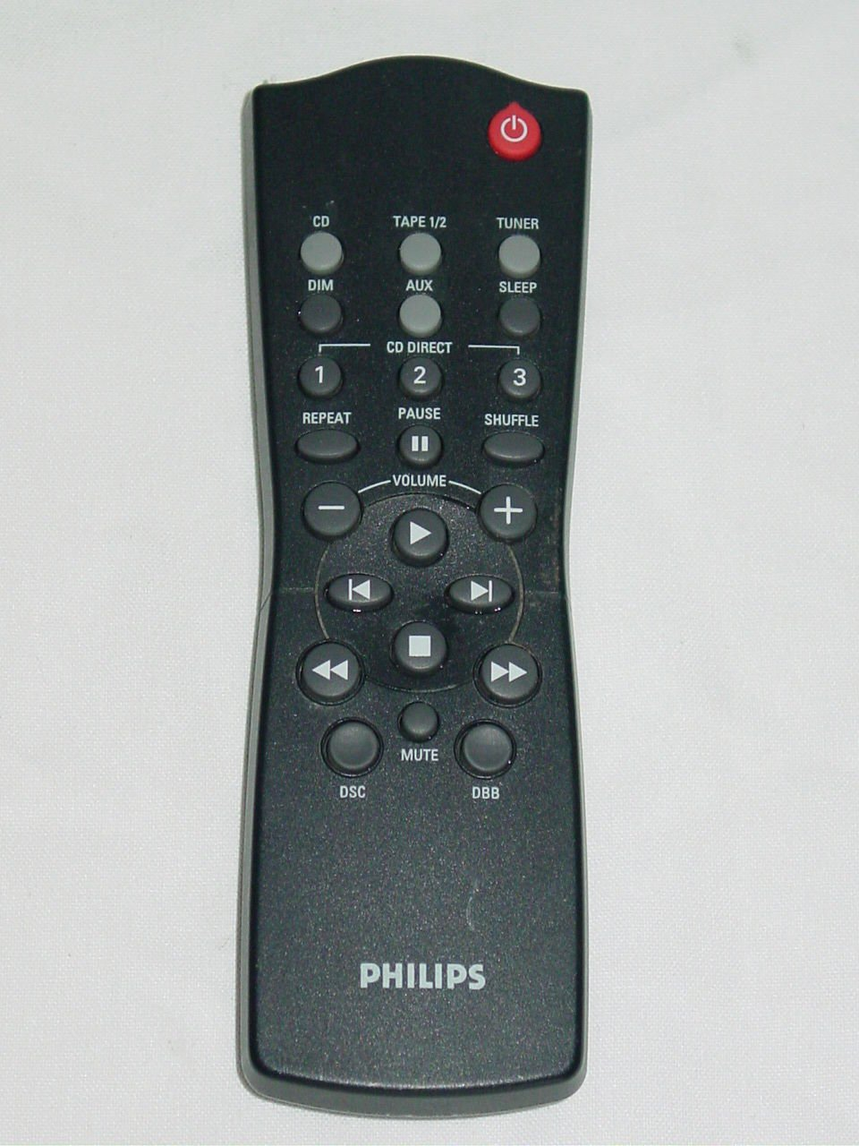 Philips RC282425/01 Audio System Remote Control 313922883611