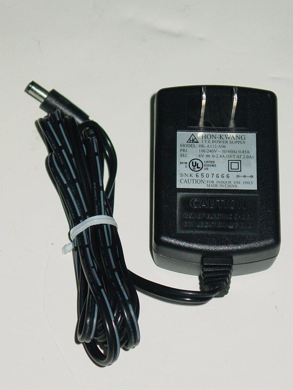 Hon-Kwang HK-A112-A06 AC Adapter 6V for Slingbox Media SB100-100
