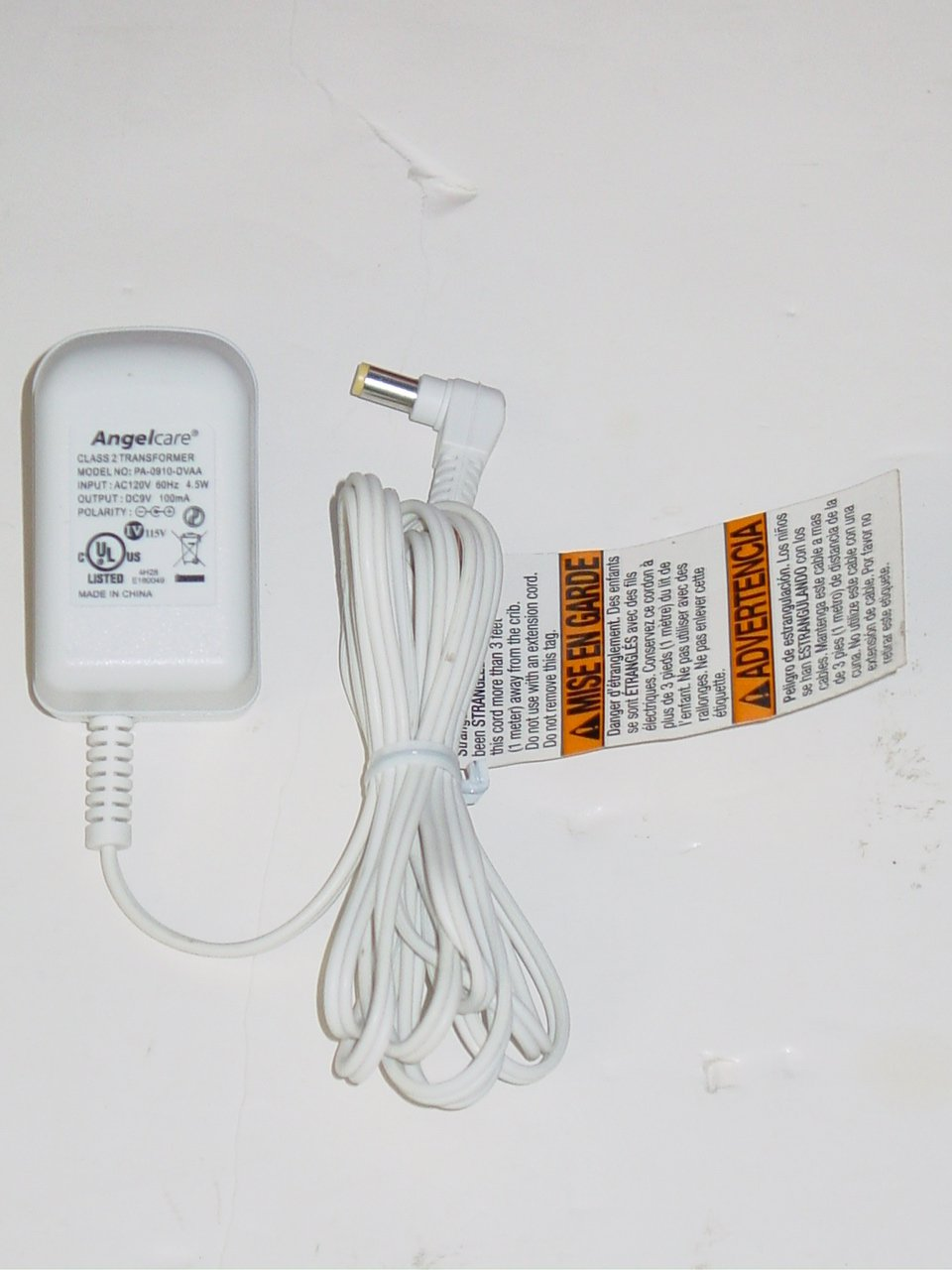 Angel Care PA-0910-DVAA  AC Adapter 9V 100mA