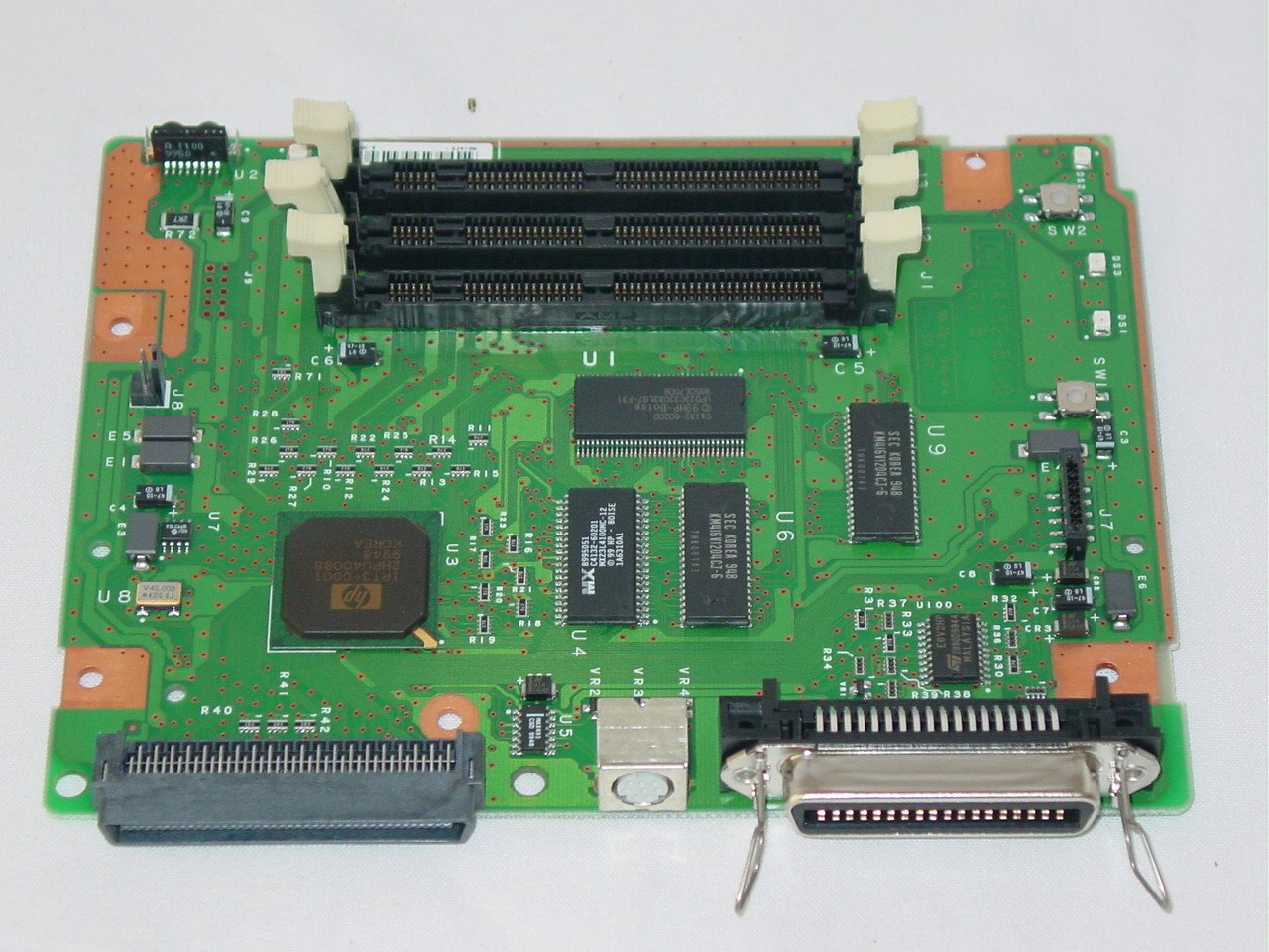 HP LaserJet 2100 Printer Formatter Main Logic Board C4132-60001