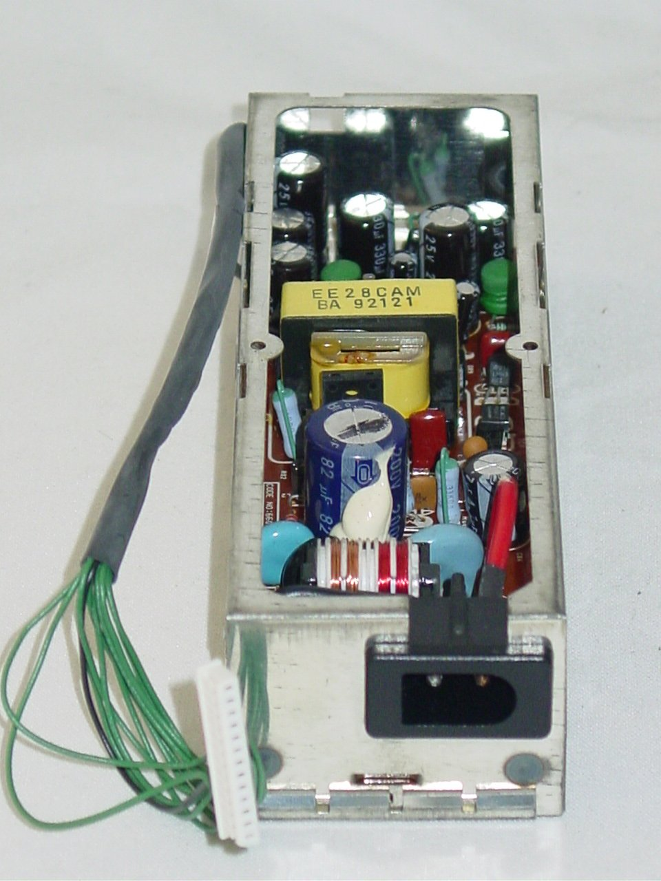 Memorex 801 8mm VCR 16-655 Power Supply Board 66029-0536-00
