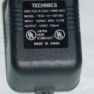 Technics TEAC-41-120700U (no cord) AC Adapter 12VAC 700mA